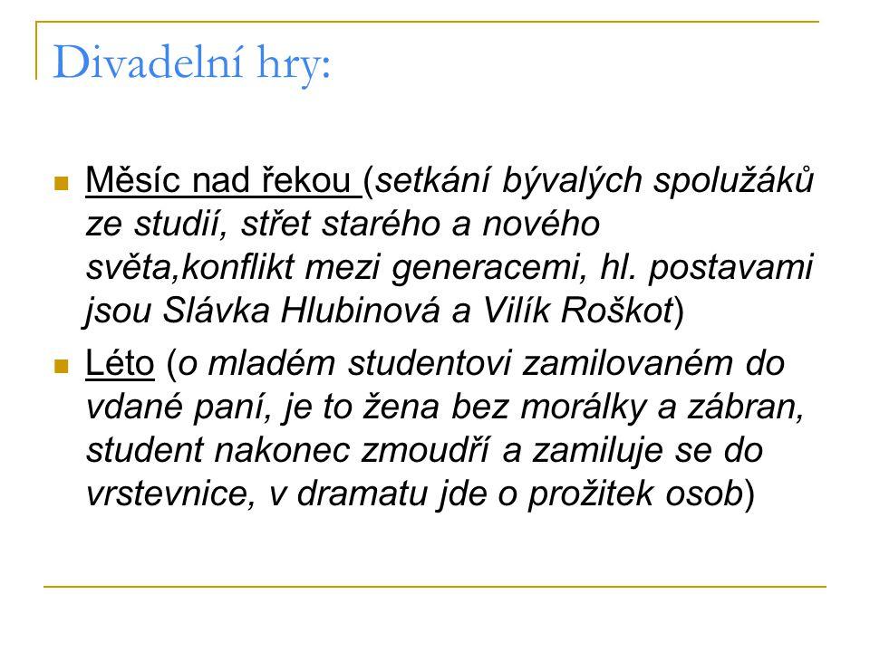Divadelní hry: