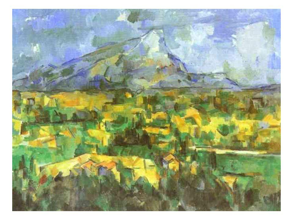 Asi z let 1904-06; malba pomocí barevných plošek, připomíná to mozaiku
