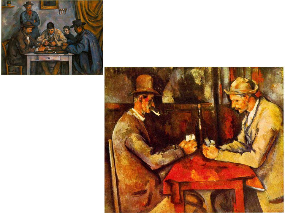 Hráči karet; velký obraz z let 1893-96