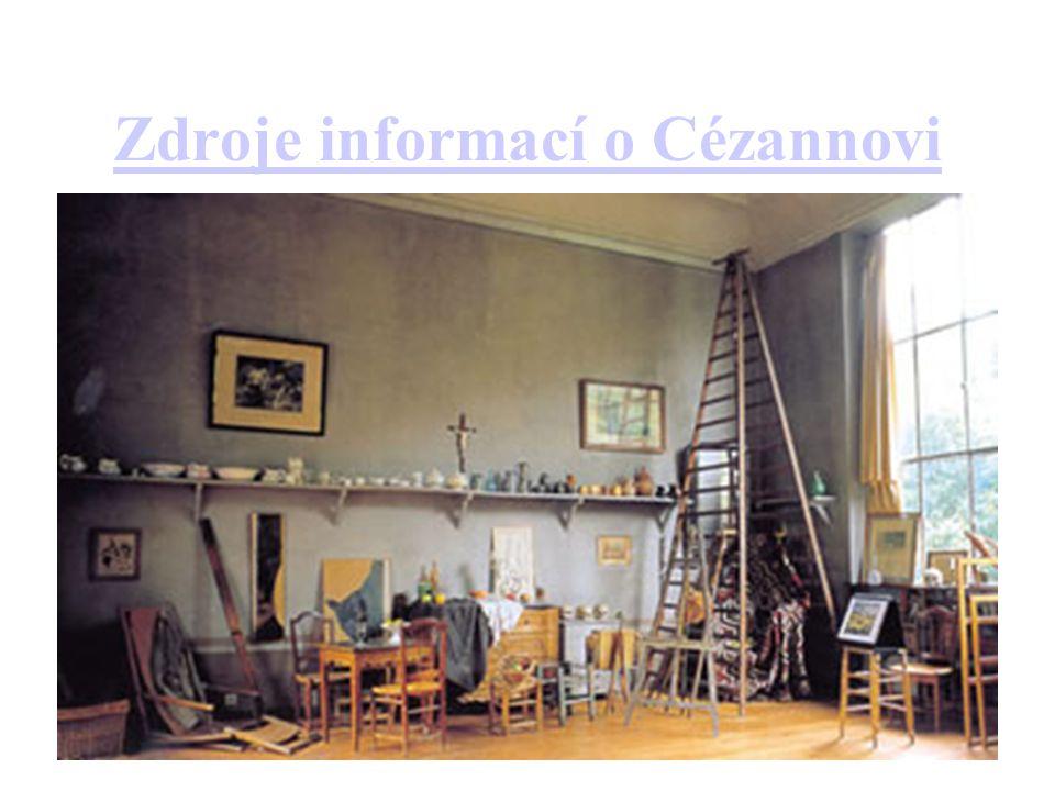 Zdroje informací o Cézannovi
