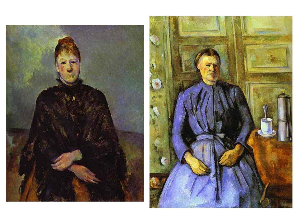 Mme Cézanne; Žena s kávovarem