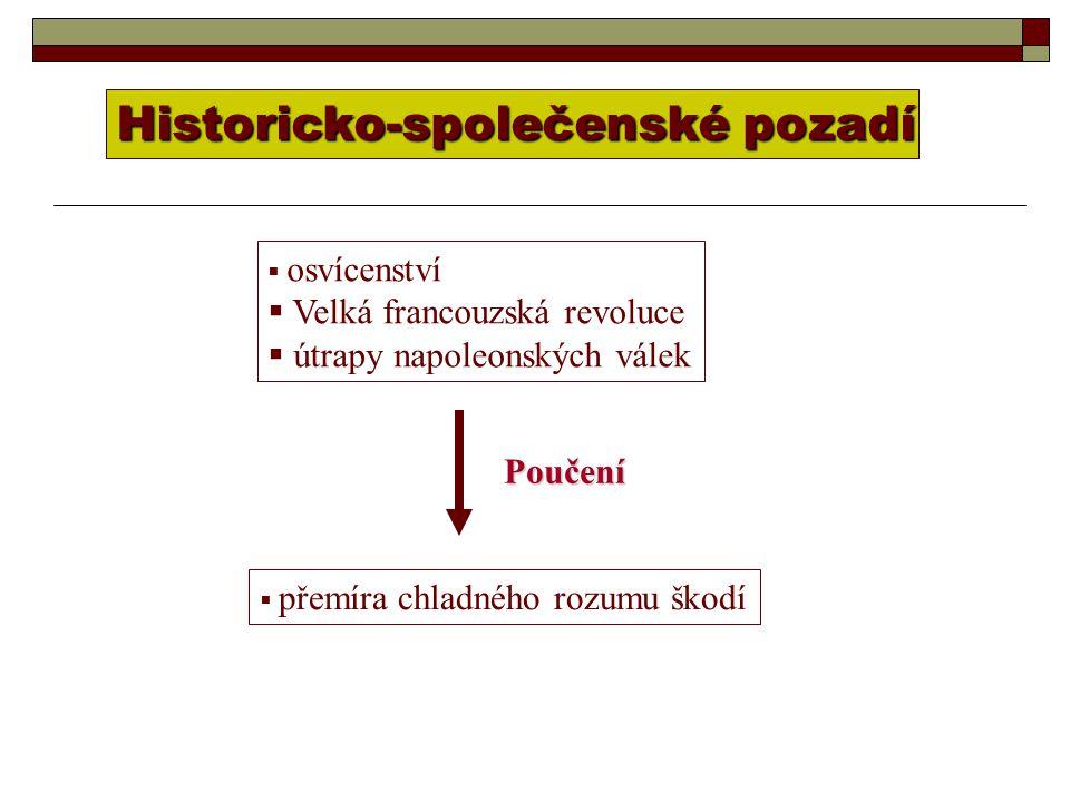 Historicko-společenské pozadí