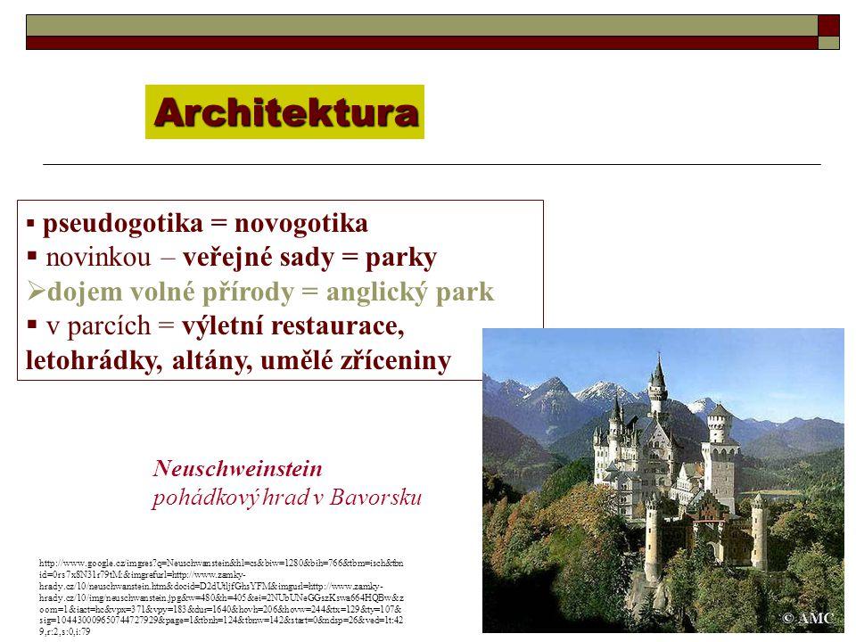 Architektura novinkou – veřejné sady = parky