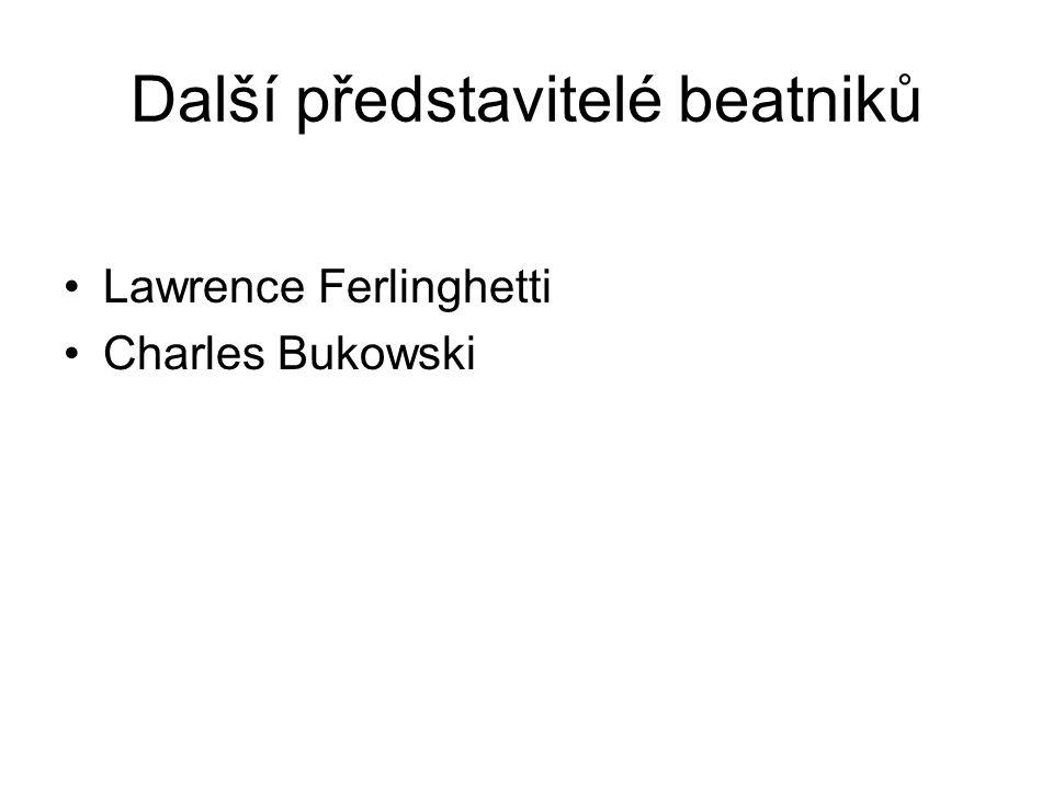 Další představitelé beatniků