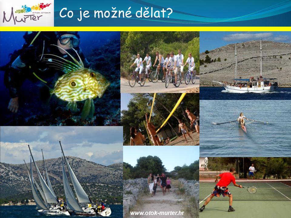 Co je možné dělat www.otok-murter.hr