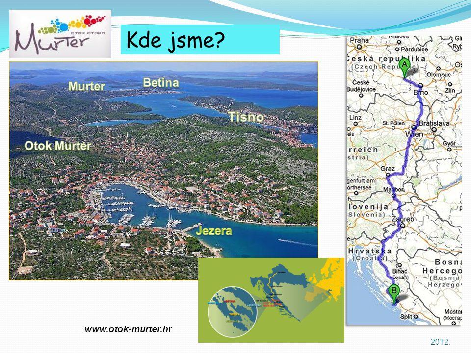 Kde jsme Tisno Betina Murter Otok Murter Jezera www.otok-murter.hr