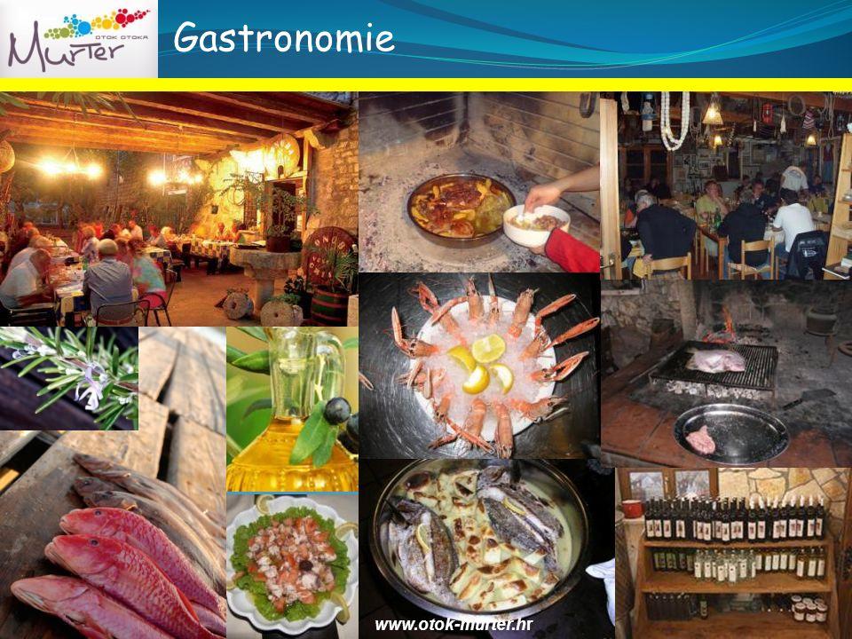 Gastronomie www.otok-murter.hr