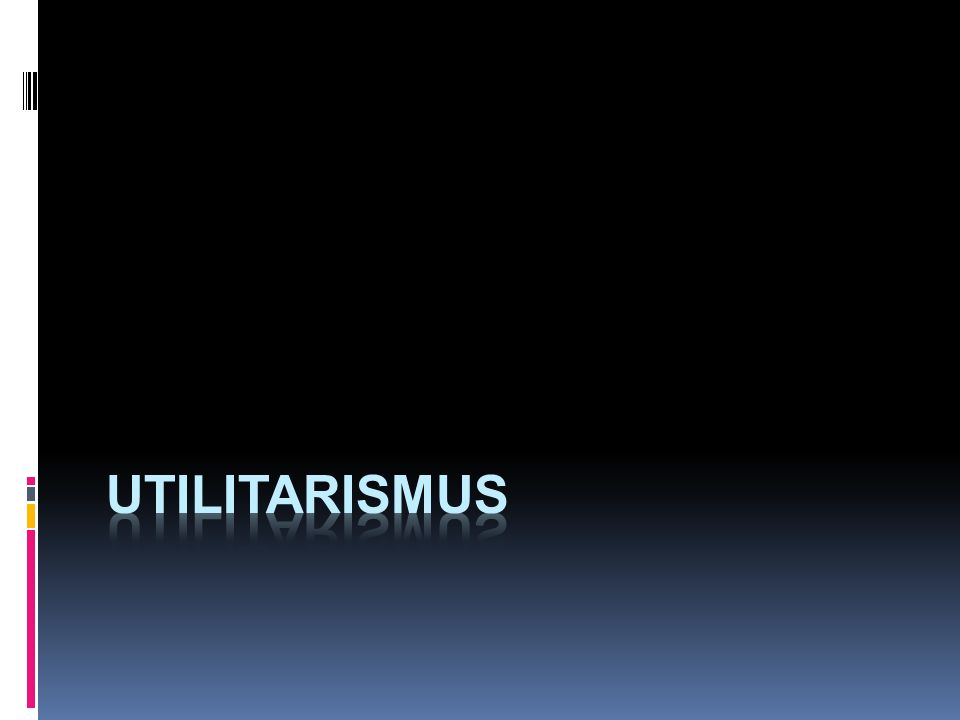 utilitarismus