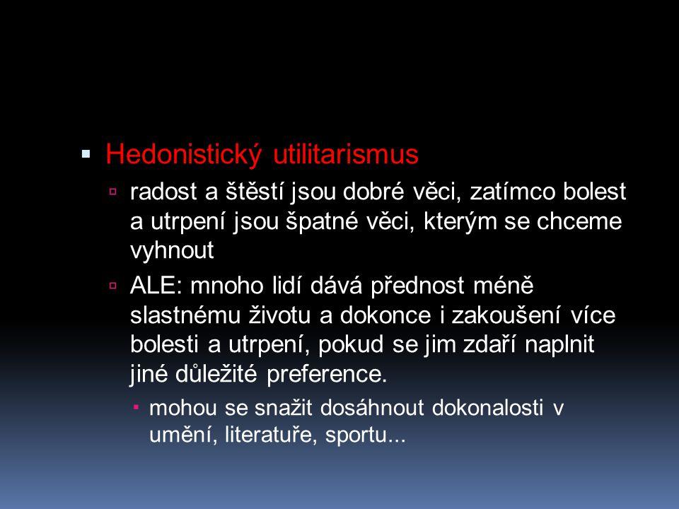 Hedonistický utilitarismus