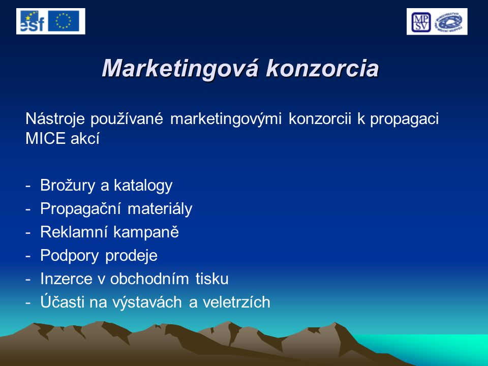 Marketingová konzorcia