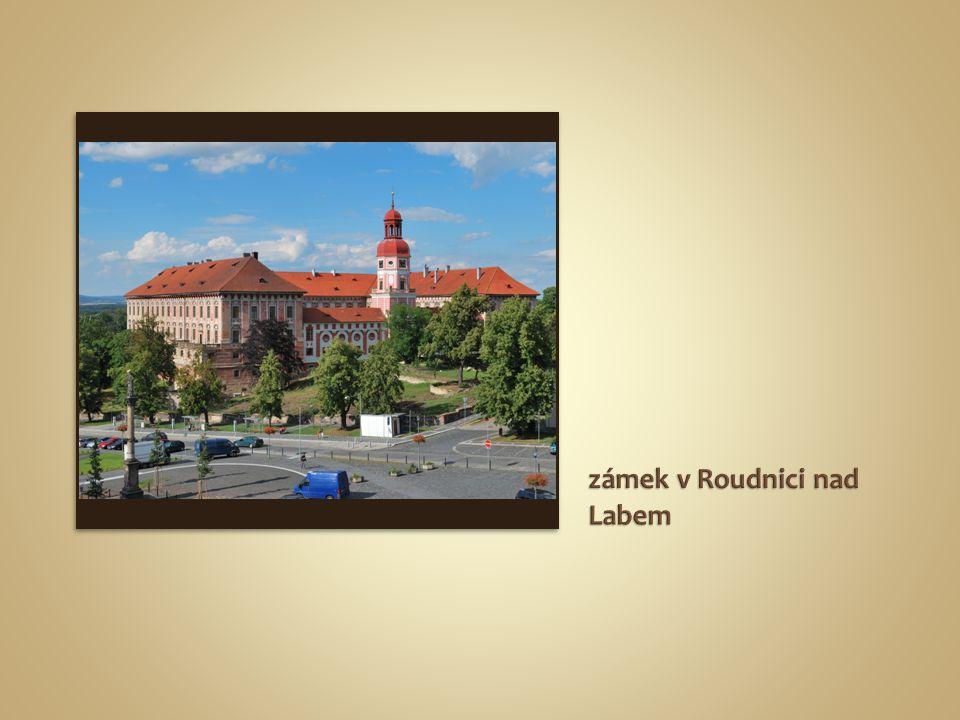 zámek v Roudnici nad Labem