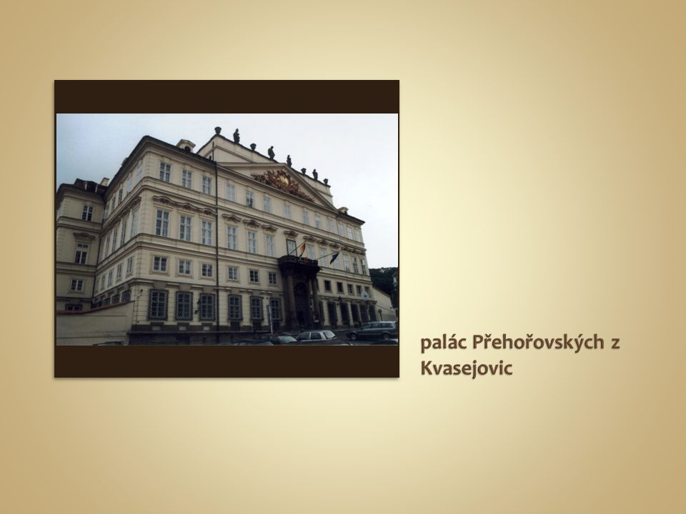 palác Přehořovských z Kvasejovic