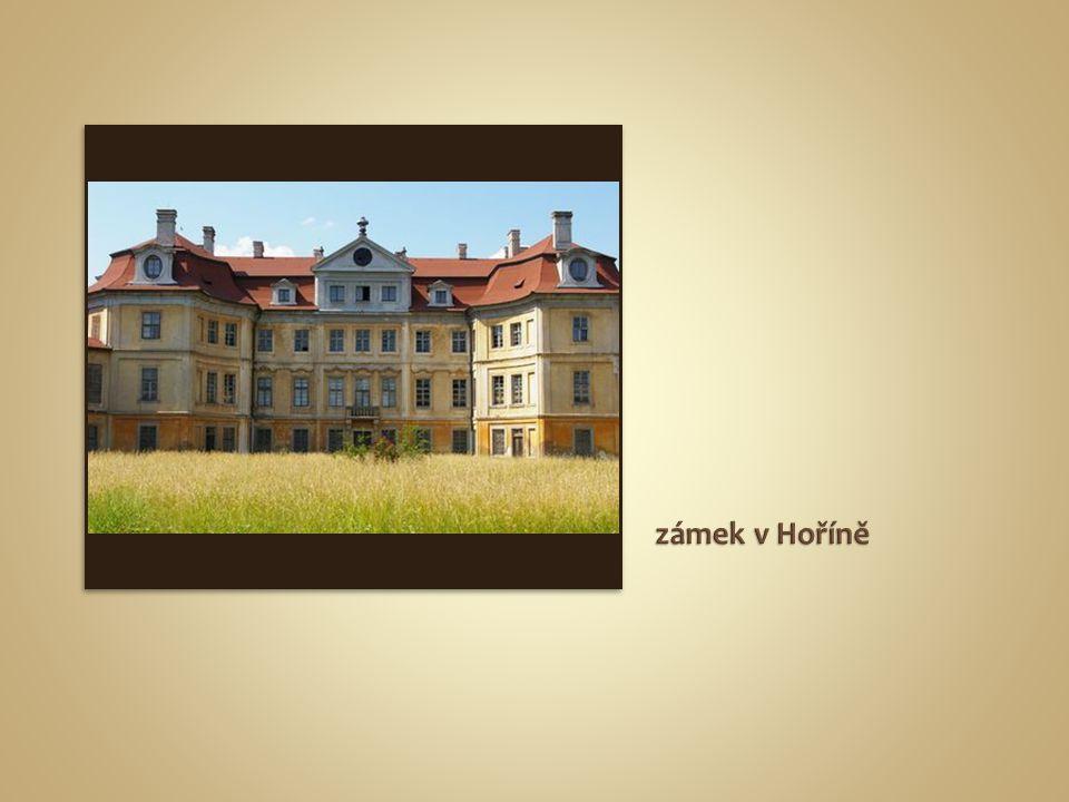 zámek v Hoříně