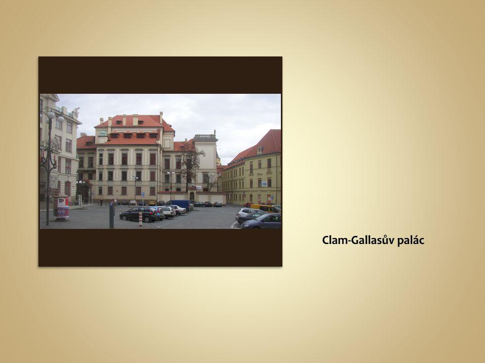 Clam-Gallasův palác