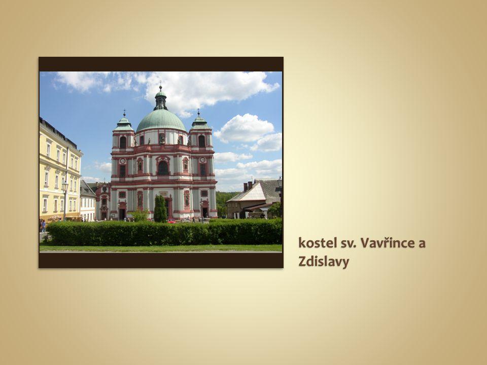 kostel sv. Vavřince a Zdislavy