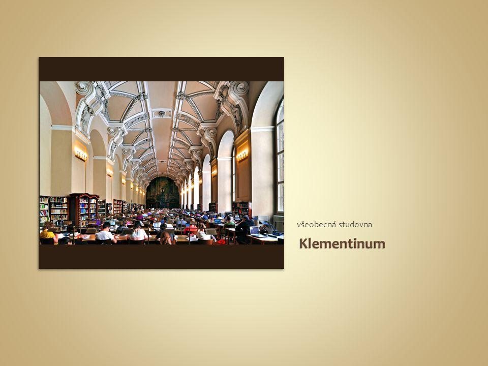 všeobecná studovna Klementinum