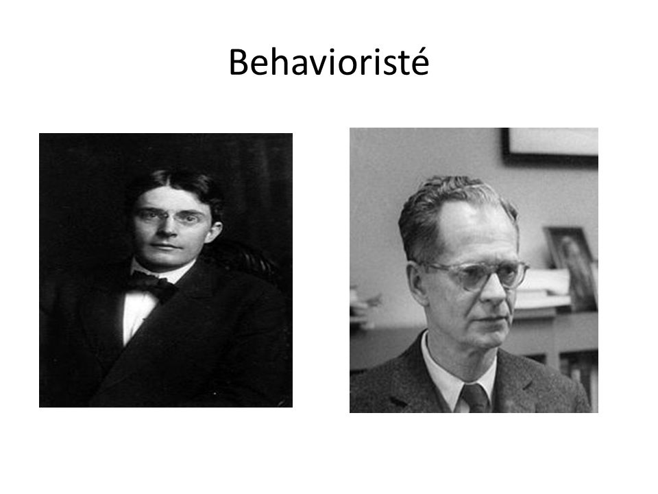 Behavioristé