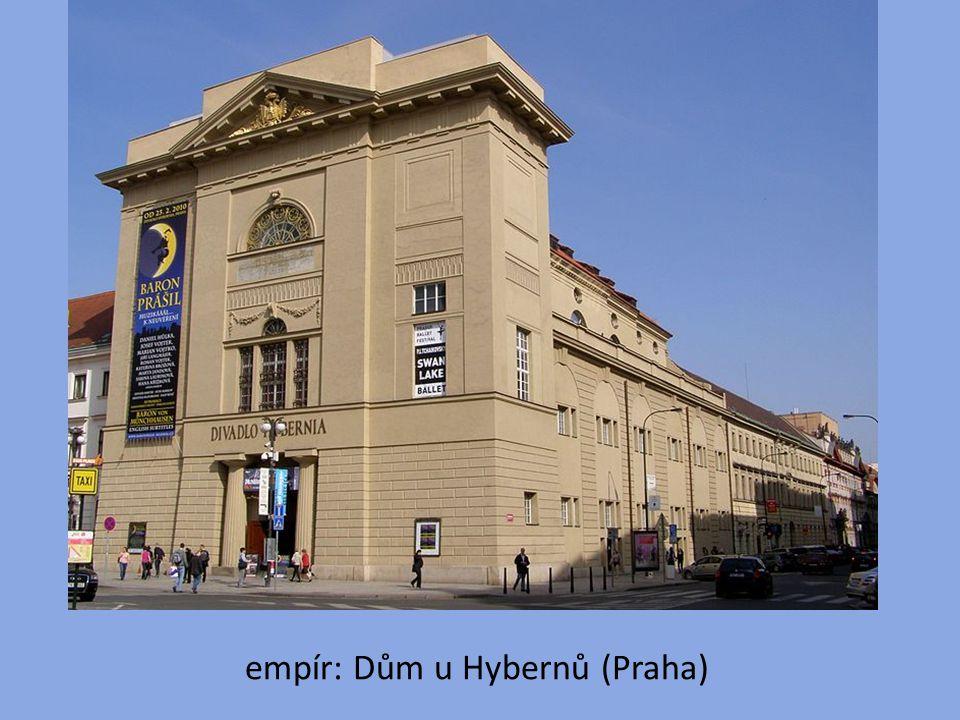 empír: Dům u Hybernů (Praha)