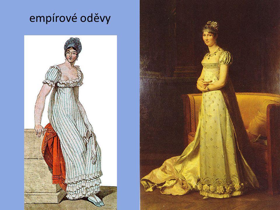 empírové oděvy