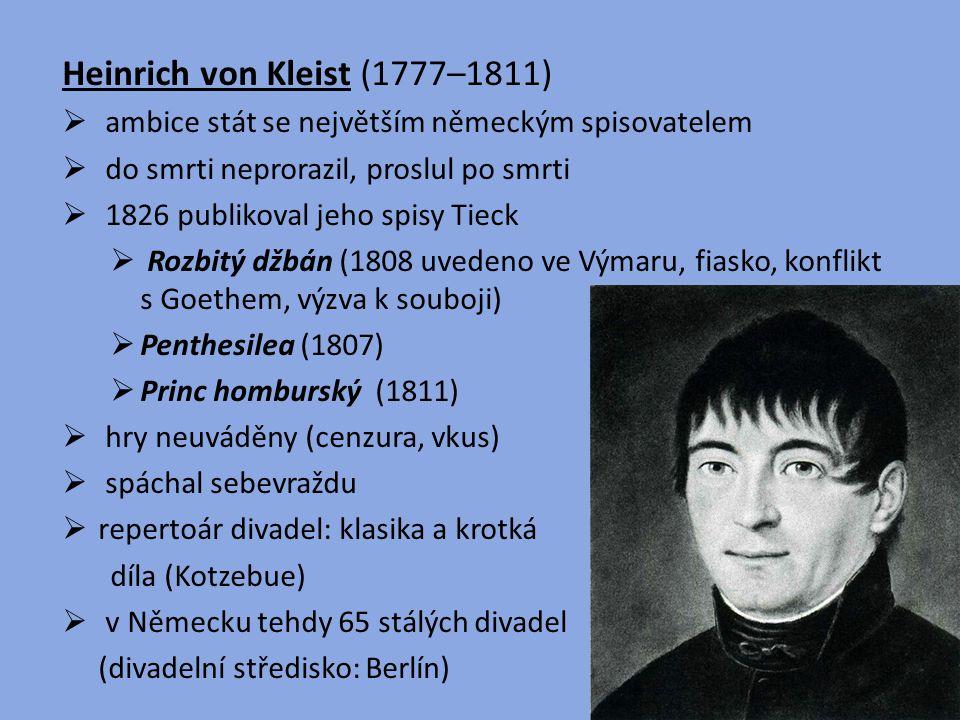 Heinrich von Kleist (1777–1811)
