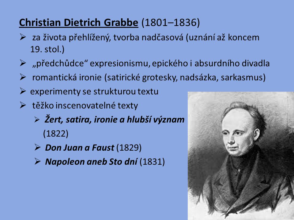 Christian Dietrich Grabbe (1801–1836)