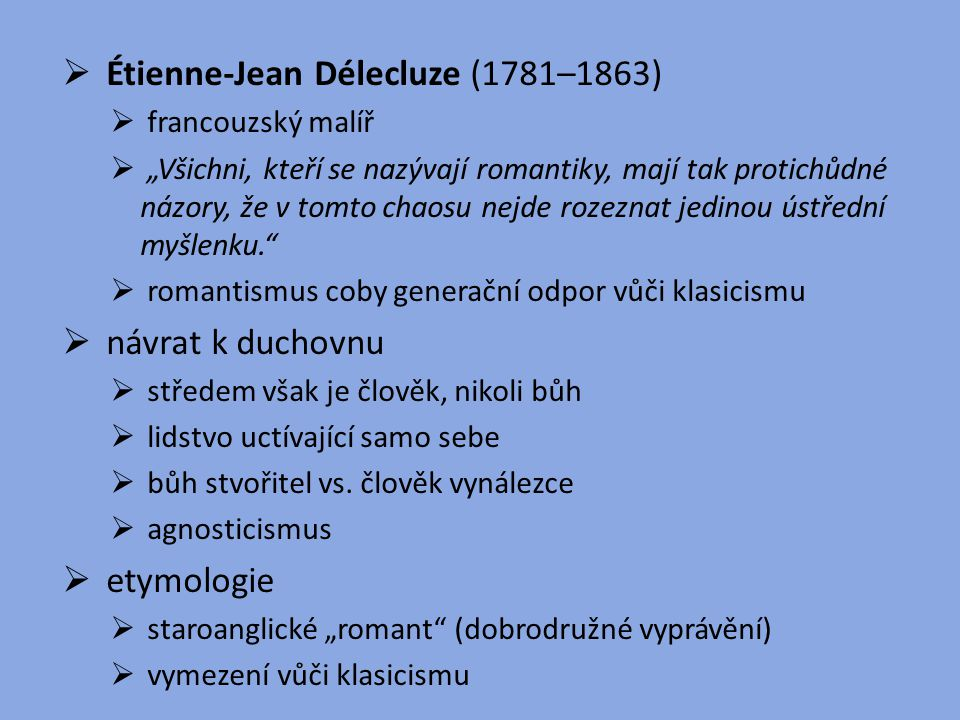 Étienne-Jean Délecluze (1781–1863)