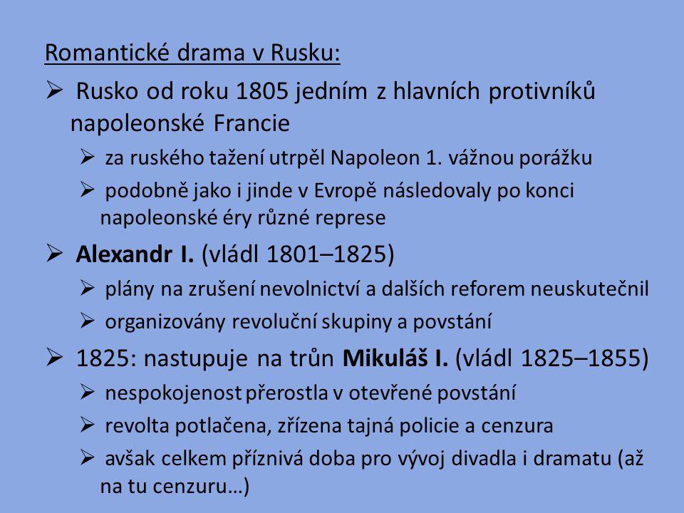 Romantické drama v Rusku: