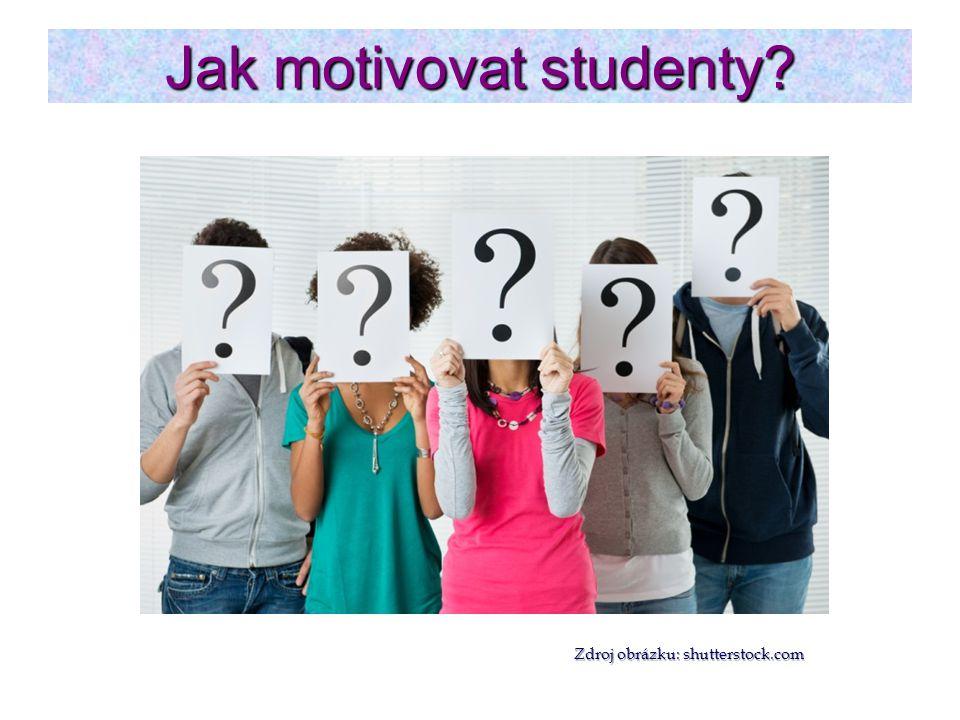 Jak motivovat studenty