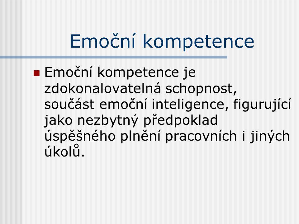 Emoční kompetence
