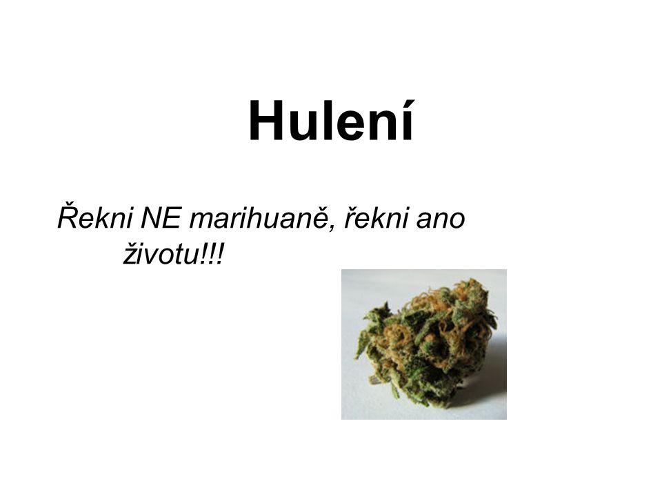 Řekni NE marihuaně, řekni ano životu!!!