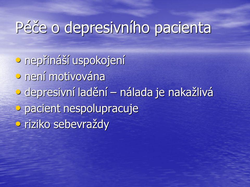 Péče o depresivního pacienta