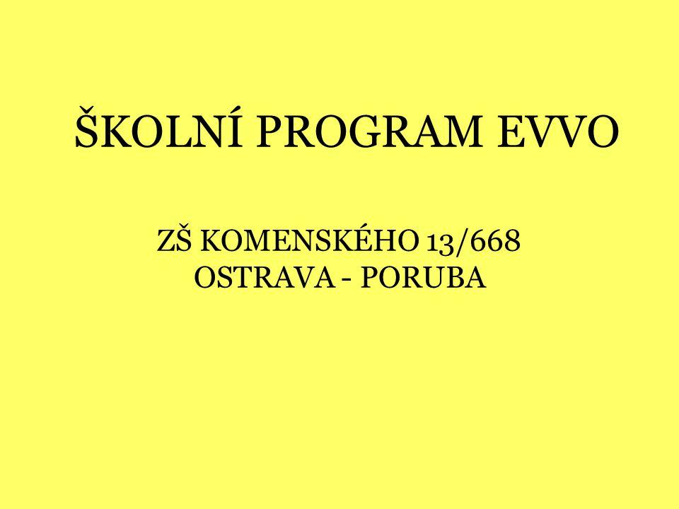ZŠ KOMENSKÉHO 13/668 OSTRAVA - PORUBA