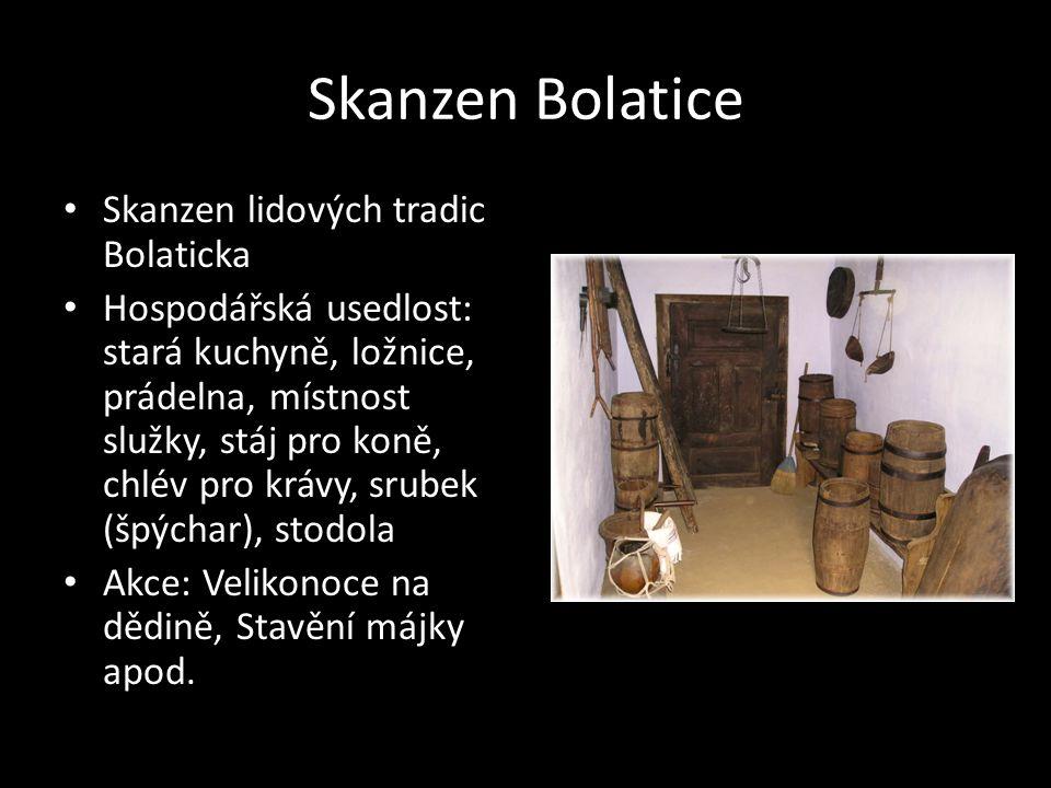 Skanzen Bolatice Skanzen lidových tradic Bolaticka