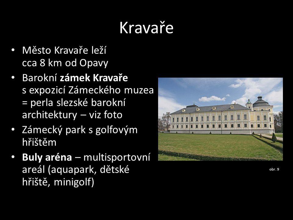 Kravaře Město Kravaře leží cca 8 km od Opavy