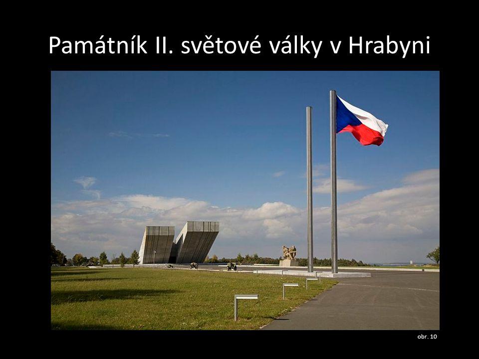 Památník II. světové války v Hrabyni
