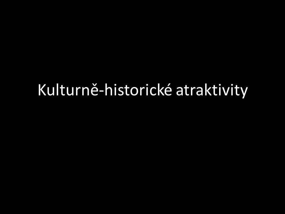 Kulturně-historické atraktivity