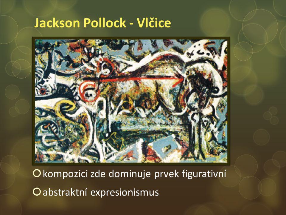 Jackson Pollock - Vlčice