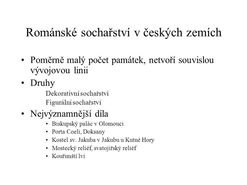 Románské sochařství v českých zemích