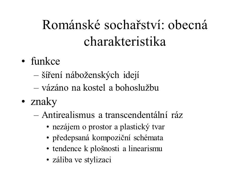 Románské sochařství: obecná charakteristika
