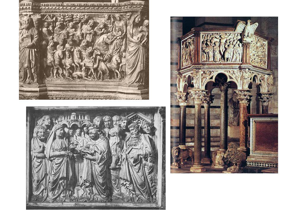Nicola Pisano: kazatelna v dómu v Pise