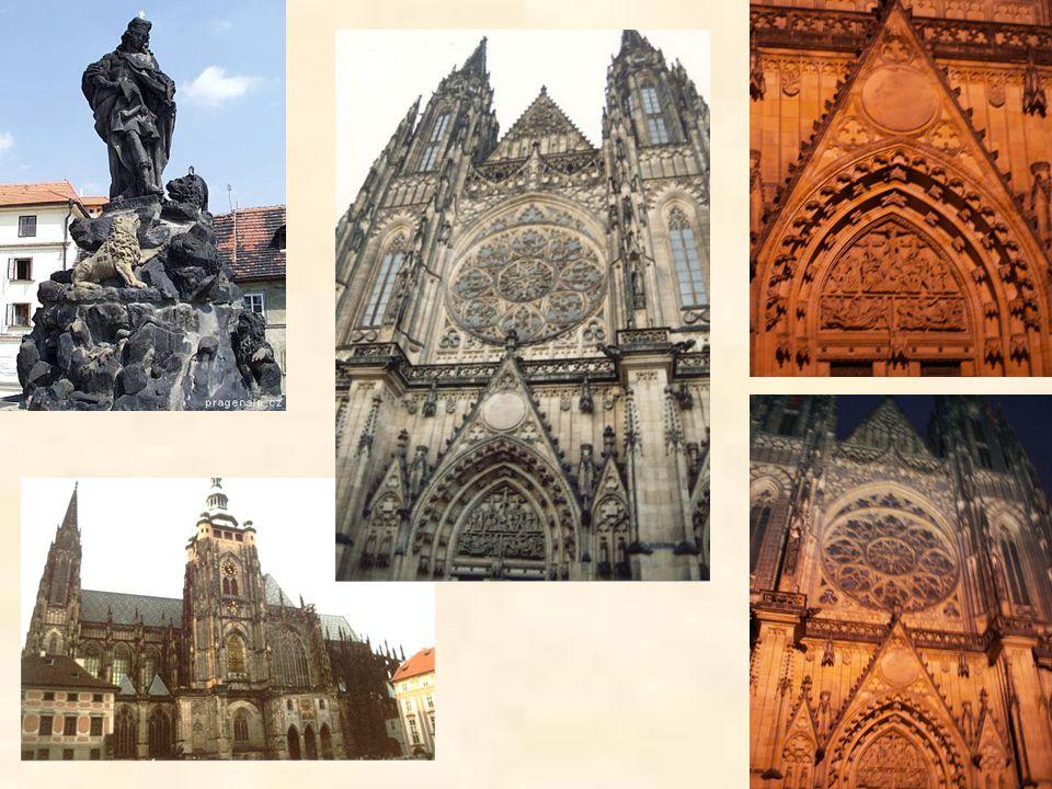 Gotické památky v českých zemích – ukázky