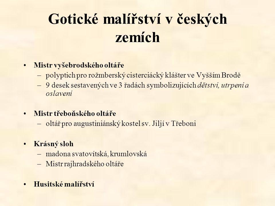 Gotické malířství v českých zemích