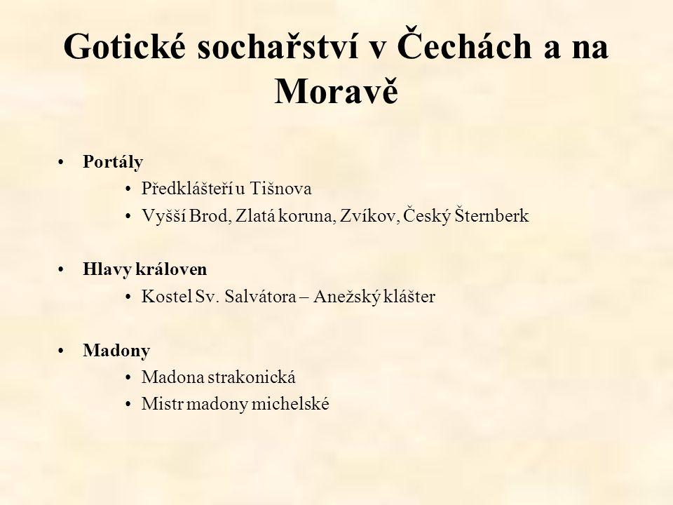 Gotické sochařství v Čechách a na Moravě