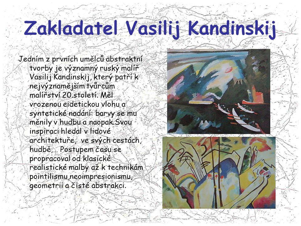 Zakladatel Vasilij Kandinskij
