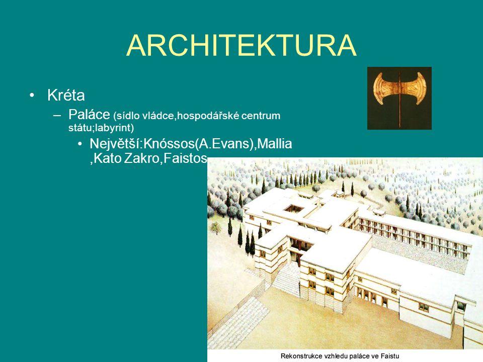 ARCHITEKTURA Kréta.