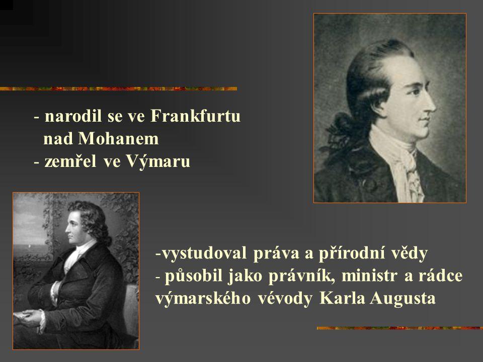 narodil se ve Frankfurtu nad Mohanem zemřel ve Výmaru