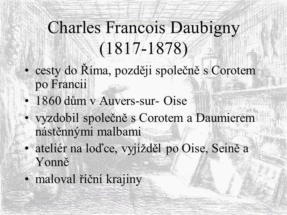 Charles Francois Daubigny (1817-1878)