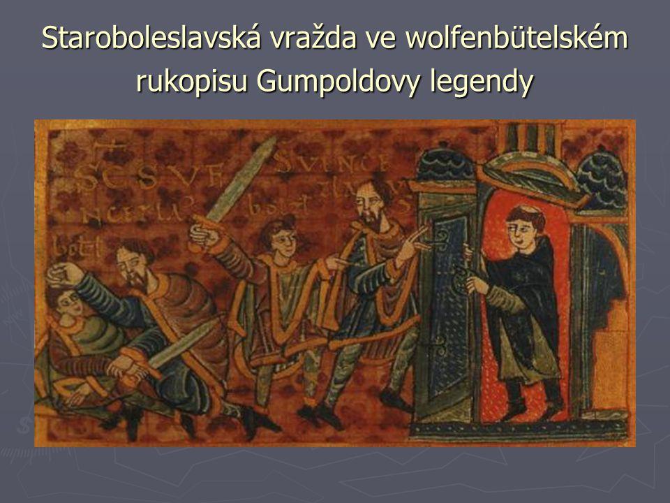Staroboleslavská vražda ve wolfenbütelském rukopisu Gumpoldovy legendy