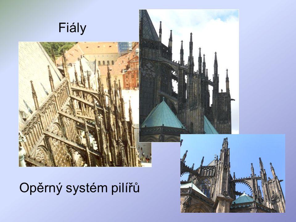 Fiály Opěrný systém pilířů