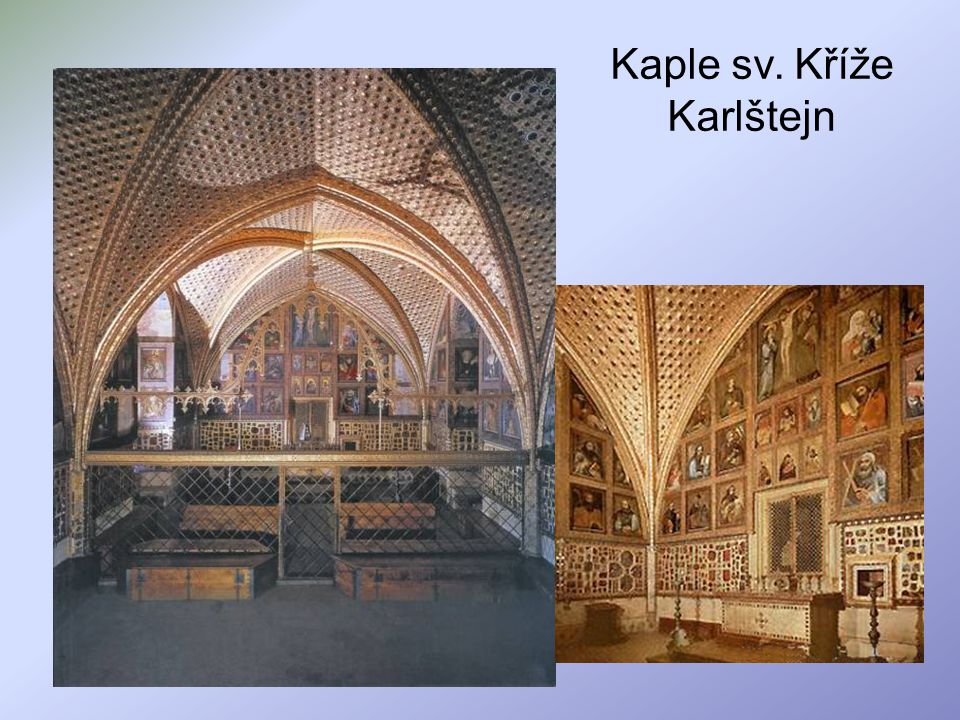 Kaple sv. Kříže Karlštejn